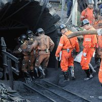 Accident minier grav în China. 21 de...